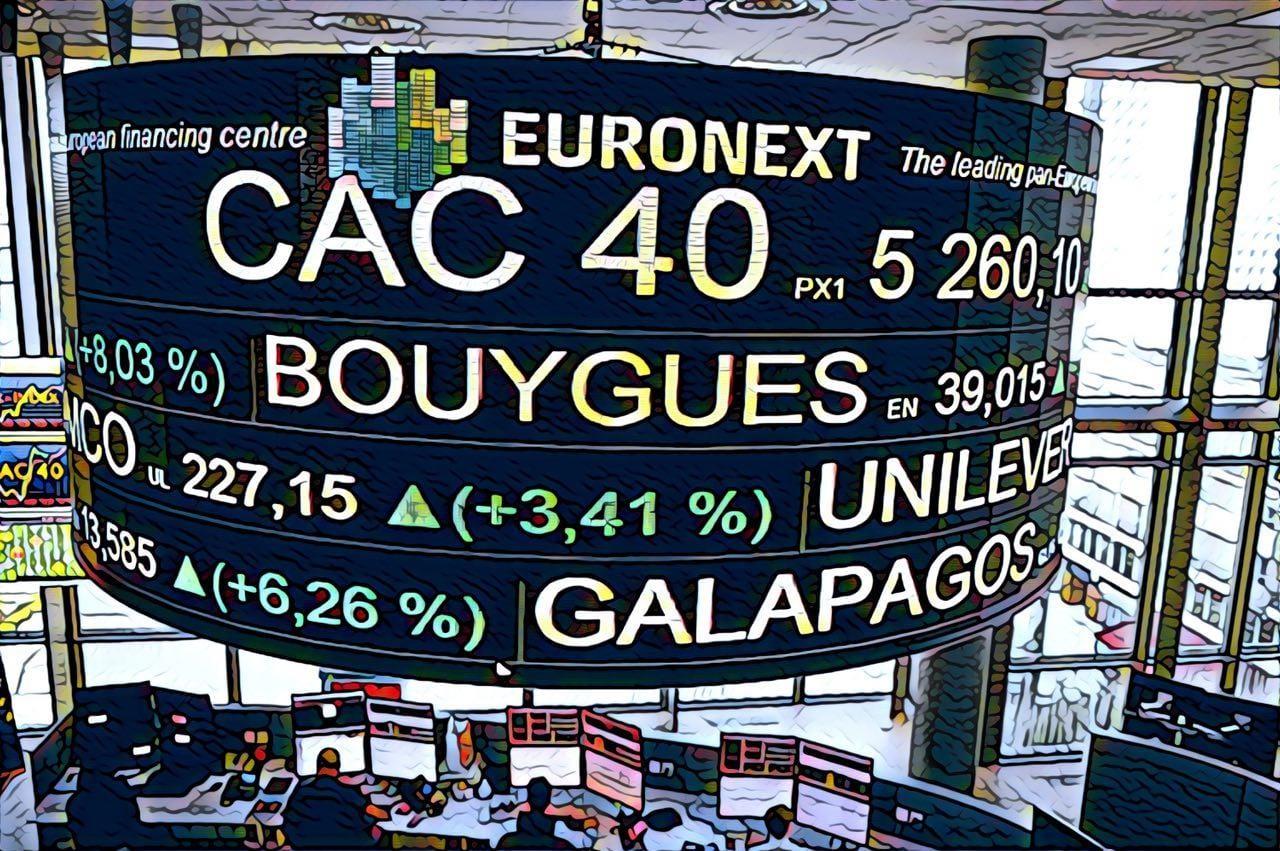 как торговать индекс cac 40