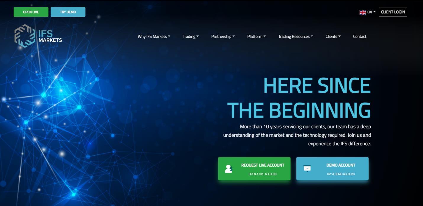 обзор сайта ifs markets