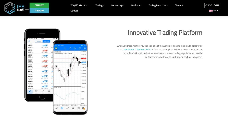 мобильный терминал ifs markets