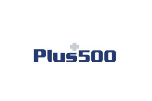 лого брокера plus500
